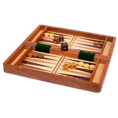 Schack / Backgammon spel vikbart