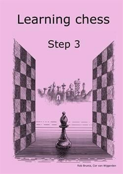Learning chess step 3 - arbetshäfte