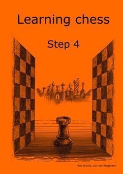 Learning chess step 4 - arbetshäfte