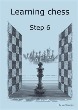 Learning chess step 6 - arbejtshäfte
